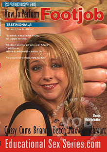 How To Perform A Footjob With Brianna Beach Box Cover