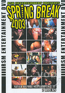 Spring Break 2003 Box Cover