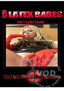 Filthy Latex Babes - Lusty Latex Louise Box Cover