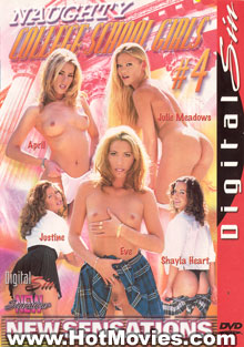 Naughty College School Girls #4 Box Cover