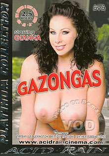 Gazongas Box Cover