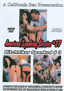 American Spanking Classics #27 - Hitchhiker Spanked #3 Box Cover