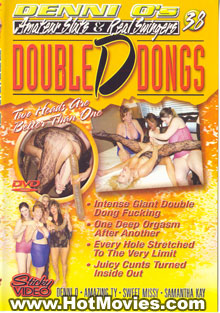 Denni O's Amateur Sluts & Real Swingers 38: Double D Dongs Box Cover