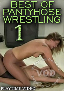 Best Of Pantyhose Wrestling 1 Box Cover