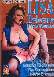 Lisa DeLeeuw Triple Feature: Blazing Redheads Box Cover