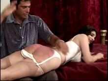 Does she enjoy being spanked?