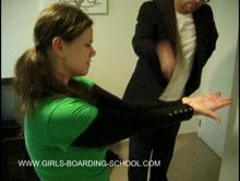 Spanking Videos - First on her hands