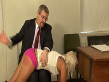 Spanking Videos - starting her first spanking