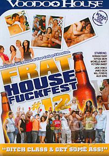Frat House Fuckfest #12 Box Cover