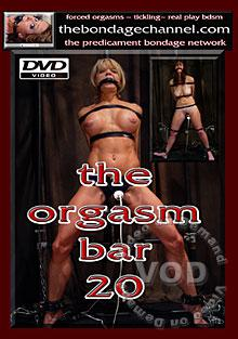 The Orgasm Bar 20 Box Cover