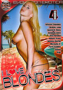 I Love Blondes Box Cover