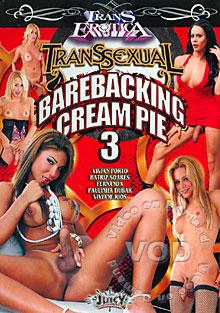 Transsexual Barebacking Cream Pie 3 Box Cover