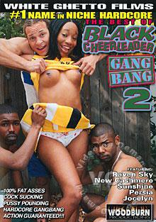 The Best Of Black Cheerleader Gang Bang 2 Box Cover