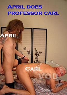 April Does Professor Carl Box Cover