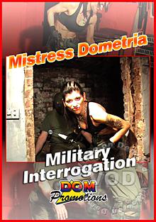 Mistress Dometria - Military Interrogation Box Cover