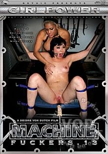 Machine Fuckers 13 Box Cover
