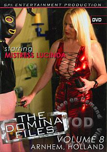 The Domina Files Volume 8 - Mistress Lucinda Box Cover