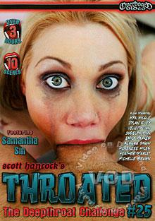 Throated #25 Box Cover