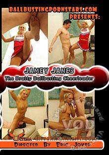 Jamey Janes - The Bratty Ballbusting Cheerleader Box Cover