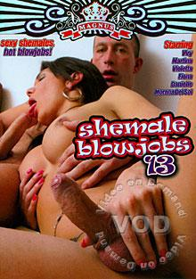 Shemale Blowjobs 13 Box Cover