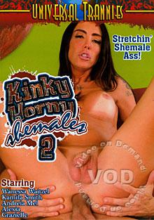 Kinky Horny Shemales 2 Box Cover