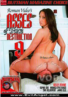 Asses Of Face Destruction 9 Box Cover