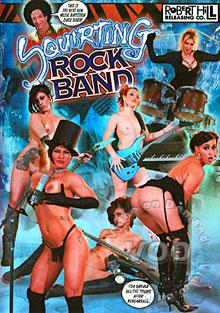 Squirting Rock Band Box Cover