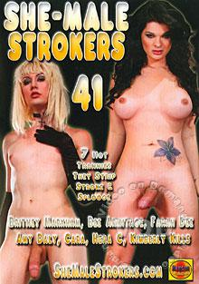 She-Male Strokers 41 Box Cover