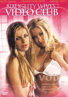 The Naughty Wives Video Club Box Cover