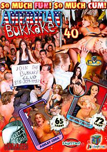 American Bukkake 40 Box Cover