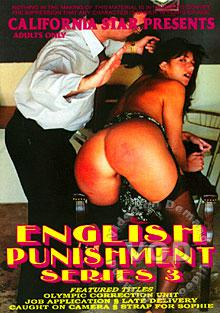 English Punishment Series 3 Box Cover
