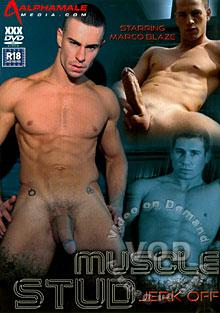 Muscle Stud Jerk Off Box Cover
