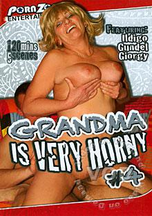 Grandma Is Very Horny #4 Box Cover