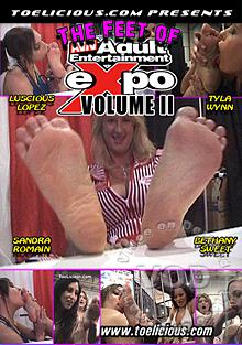 The Feet Of AVN Adult Entertainment Expo - Volume 2 Box Cover