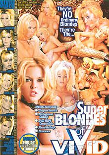 Super Blondes Of Vivid Box Cover