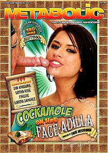 Cockamole On Her Face-A-Dilla Box Cover