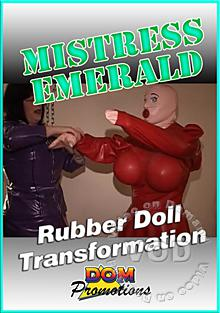 Mistress Emerald - Rubber Doll Transformation Box Cover