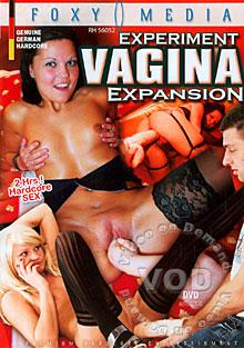 Experiment Vagina Expansion Box Cover