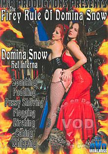 The Firey Rule Of Domina Snow Box Cover