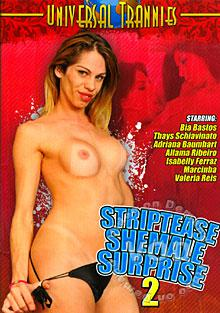 Striptease Shemale Surprise 2 Box Cover