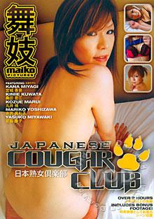 Japanese Cougar Club Box Cover