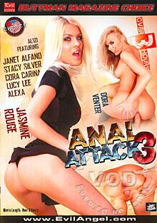 Anal Attack 3 Box Cover