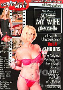 Screw My Wife Please!! - Live & Uncensored Vol. 4 Box Cover