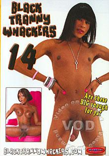 Black Tranny Whackers 14 Box Cover
