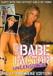 The Babe Factor - Uncut Premiere Edition Box Cover
