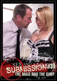 Sex and Submission #39 - The Maid and the Gimp - Featuring Krissy Lynn & Winter Sky Box Cover