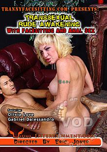 Transsexual Rude Awakening With Facesitting And Anal Sex Box Cover