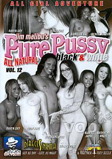 Pure Pussy Vol. 12 - Black & White Box Cover