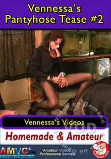 Vennessa's Pantyhose Tease #2 Box Cover
