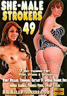 She-Male Strokers 49 Box Cover